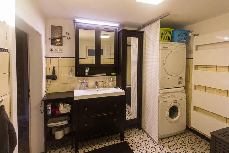 arctofilz l ckenf ller anbau das vordere bad. Black Bedroom Furniture Sets. Home Design Ideas